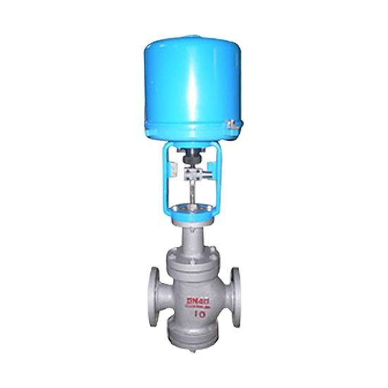 Two-seat control valve, ZDLN electric fine small two-seat control valve
